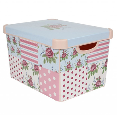 pretty storage boxes vintage unique shabby chic. Black Bedroom Furniture Sets. Home Design Ideas