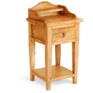 Solid Wood Cottage Style Charlotte Small Wash Stand