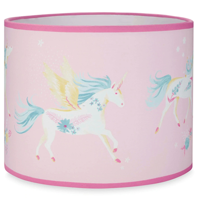 Girls Pink Unicorn Light Shade Lampshade Girls Bedroom Country Gifts And Homeware Girls Pink Unicorn Light Shade Lampshade Girls Bedroom