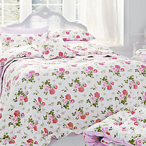 cath kidston antique rose bouquet bedding red u0026 pink